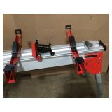 Folding Miter Saw Stand by Milwaukee Customer Returns See Pictures