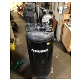 60 Gal. Stationary Electric Air Compressor by Husky For Parts Customer Returns See Pictures