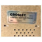 Vintage - Crosley Limited Edition Radio + Tape Deck