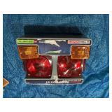 80 in. Under Standard Trailer Light Kit with Side Marker Lights
