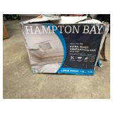 110 CFM Ceiling Mount Roomside Installation Quick Connect Bathroom Exhaust Fan, ENERGY STAR by Hampton Bay