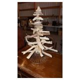 Small Homemade Tree Made of Branches