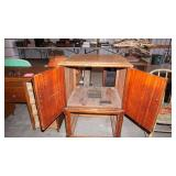 Vintage Enclosed TV Stand