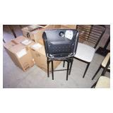 4 Vintage Metal Folding Chairs