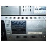 Vintage Hitachi Stereo Cassette Deck Model D-X6 / Sears Video Cassette Recorder
