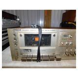 Vintage HITACHI D-850 Stereo Cassette Tape Deck 3 Head Dolby System