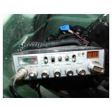 Bin of Vintage CB Radios