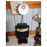 Vintage Handmade Refurbished Honeywell Pyr-O-Vane Lamp