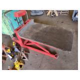 Scissor Lift Cart, 48x28 Platform, ...