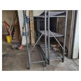 (2) Shelf Units, 77x24x72...