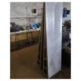 Aluminum Ramps, 73x20x10...