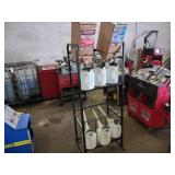 Oil Dispenser Rack with Oil Cans...