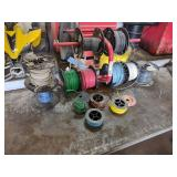 Assorted Copper Wire Rolls with Cad...