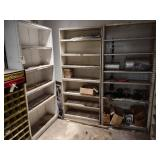 (3) Shelf Units with Contents...