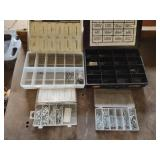 (2) Parts Bins with Cotter Pins...
