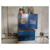 (2) Cabinets with Tire Repair/Mount...