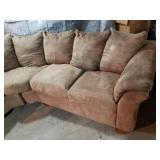 Sectional Chair and Ottoman