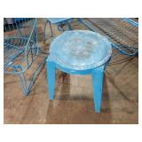 Light Blue Outdoor Patio Chairs