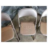 4 Samsonite Folding Chairs
