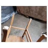 Set of 6 Wooden Kitchen Table Chairs