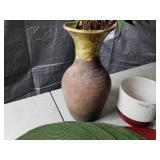 Vases, Faux Plants, Placemats, Wax Melter