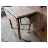 Unfinished Drop Leaf Table