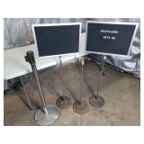 Adjustable Height Signs