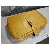 Plastic Erector Set in Old Suitcase