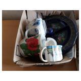 Tea Cups and Decorative Tea Pots