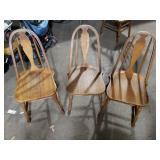 3 Hoosier Chairs