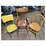 3 Older Chairs