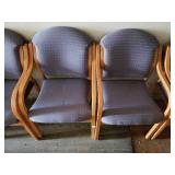 6 Matching Waiting Room Style Chairs
