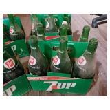 30 7 Up Bottles, 1 RC Bottle