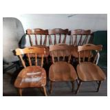 6 Kitchen Table Chairs