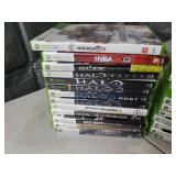 Large Lot of XBox 360 Games