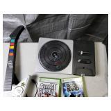 XBox 360 Rock Band Guitar Hero DJ Hero Games, Guitars