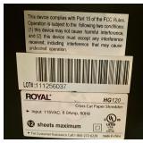 Royal HG120 Crosscut Paper Shredder