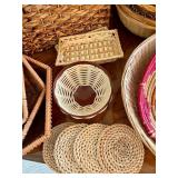 Wicker Baskets and More