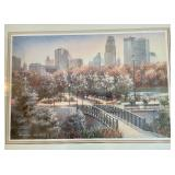 Minneapolis Skyline Print by Barbara Hails