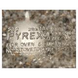 Pyrex, Marinex and Glasbake Bakeware