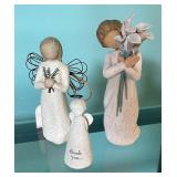 Willow Creek and Bless You Figurines