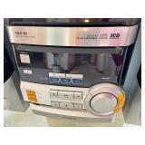 Magnavox Mas-80 Mini Hi-fi 3 CD Disk Changer Stereo System