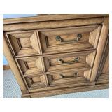 Thomasville Dresser with Double Mirrors