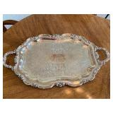 Silver Plated Tea Service w/ Tray