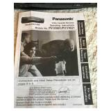 Panasonic VCR With Instructions