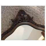 Ornate  Framed Wall Mirror
