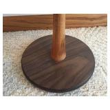 Small Wooden Accent Table