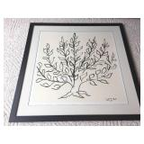 "H. Matisse ""Tree"" Framed Print"