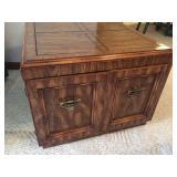 Vintage Wooden Storage Table