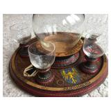 Germany Decanter Set With 4 Cups